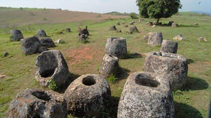 Cánh đồng Chum ở Lào