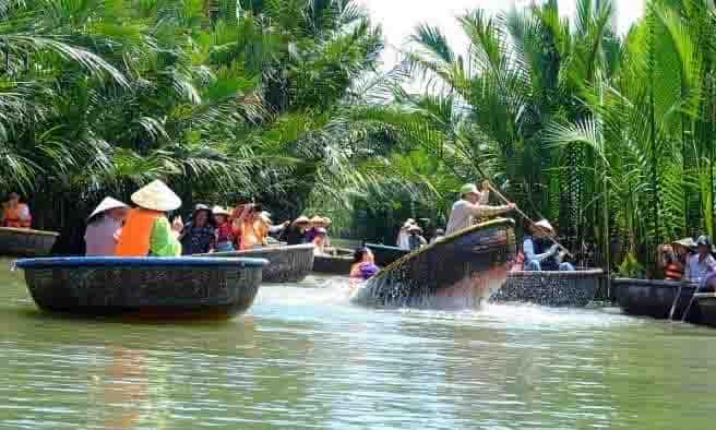 Tour ghép rừng dừa Bảy Mẫu - Hội An