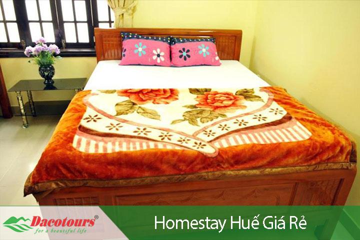 Homestay giá rẻ tại Huế